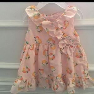 Kate Spade Orange Blossom Infant Dress 12 months